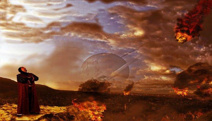 Soñar con el fin del mundo