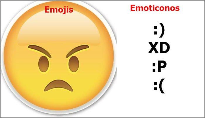diferencia entre emoticon y emoji