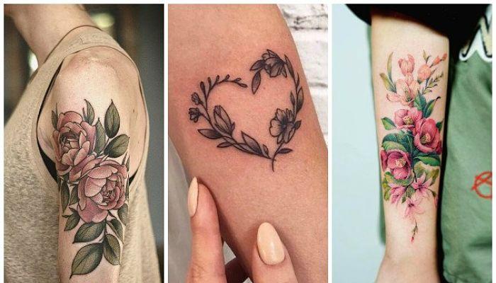 significado de los tatuajes florales