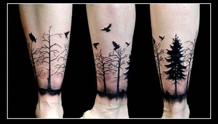 significado de los tatuajes sobre la naturaleza