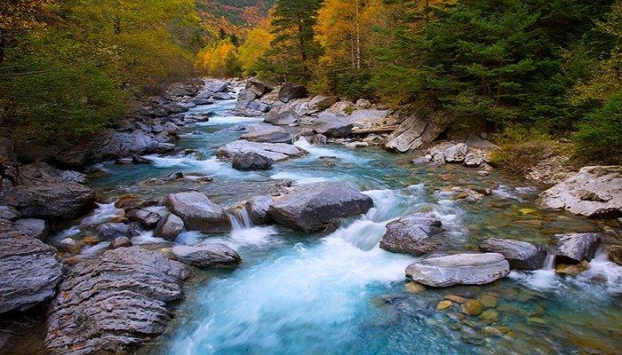 soñar con río