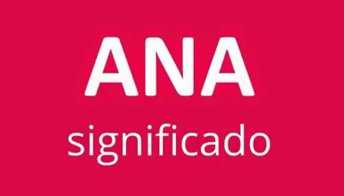 significado de Ana