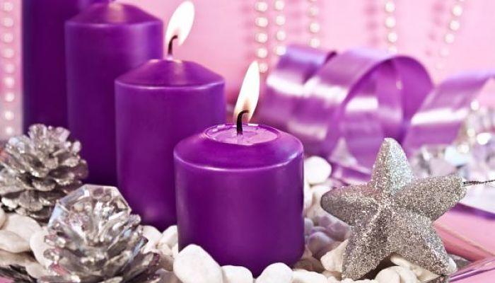 significado de las velas púrpuras