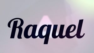 Nombre Raquel